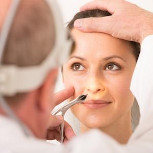 Симптомы полипа в носу
